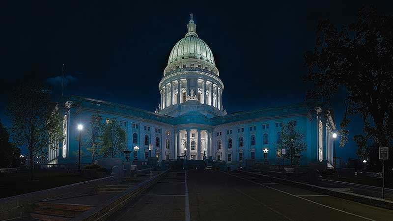 Wisconsin finishes 2019 up nearly 20%