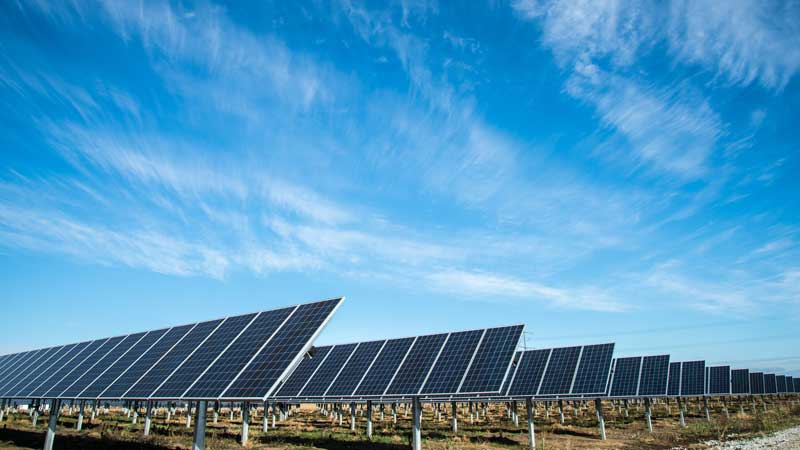 Private equity firm adds solar power for mining operation